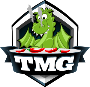 TMG Dragon loves peppers!