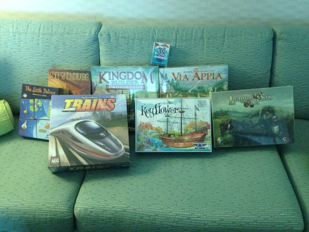 First Day Haul at GenCon!