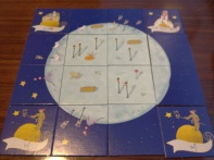 My completed planet in The Little Prince, which got me the victory with 50 points!