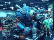 This is typical fair in the exhibit hall.