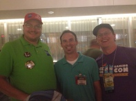 I had the privilege of meeting Tom Vasel and Eric Summerer of The Dice Tower. (I was giddy because Tom recently mentioned that he likes the theme of Scoville!)