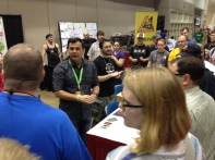 The obligatory Wil Wheaton picture from GenCon in the TableTop area.