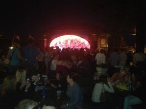 Der Rathskellar Beirgarten. This was the best night out during GenCon.