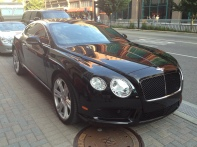 Gotta love a Bentley, unless you don't, but I do!