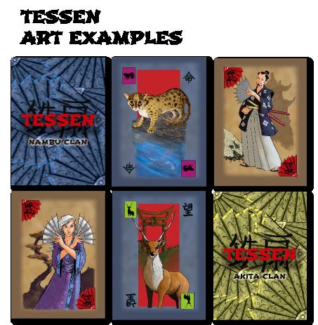Tessen Card Examples