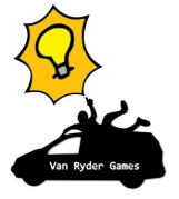 A bright idea from Cardboard Edison and Van Ryder Games!