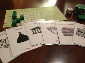 Prototype components for The City Beneath.