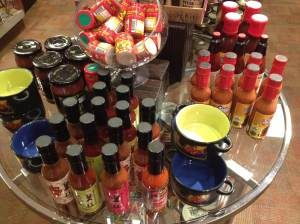 Gift shop items that reassured me I was demoing Scoville in the right state!