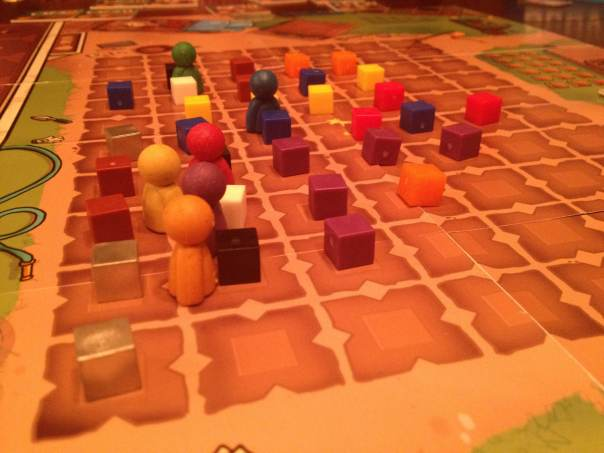 A near-endgame field condition from a recent 6 player game of Scoville.