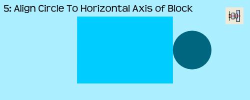 AlignmentEx05-AlignCircleToHorizontalBlockAxis