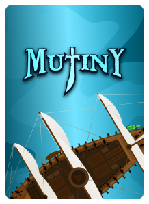 Mutiny Card Reverse V1 - 822 - Cut