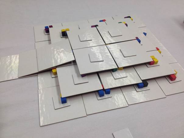 Barebones prototype demonstrating the 3D nature of the game.
