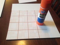 Jumbo glue stick