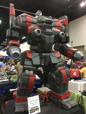 A robot. Neat.