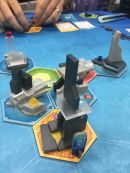 Megacity: Oceania was an interesting resource collection and dexterity-esque game. Hope you have a nice, flat table!