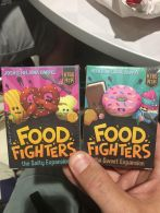 Had to snag the new Sweet & Salty expansions for Food Fighters by Kids Table Board Gaming. My kids have already played a half dozen times!